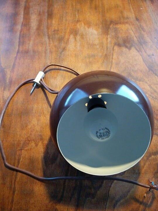 Anden loftslampe, E.S.Horn