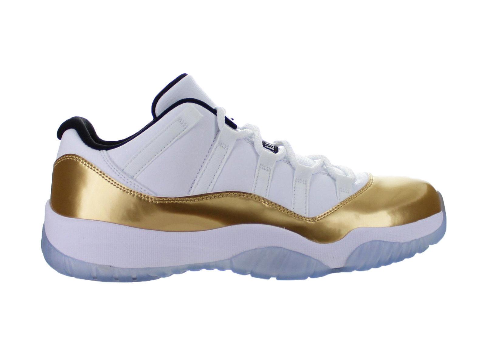 ON HAND NEW Nike Air Jordan Mens Retro 11 Low Gold