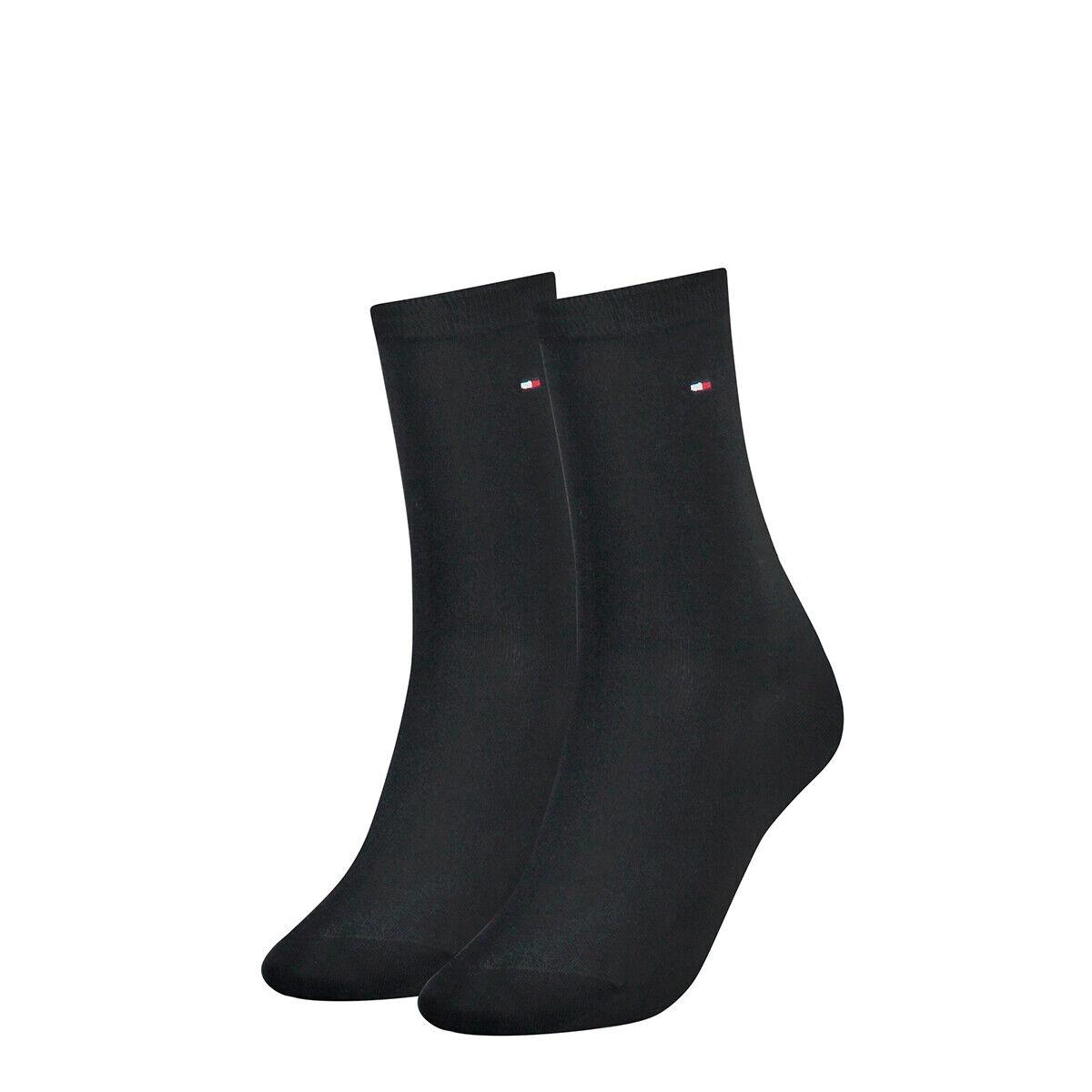 TOMMY HILFIGER Damen Socken Classic Strümpfe einfarbig Vorteilspack