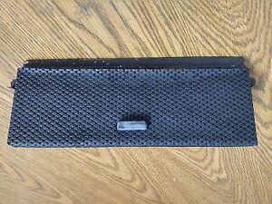 EXCELLENT USED ORIGINAL GENUINE PORSCHE 914 914-6 GLOVE BOX DOOR WITH HANDLE