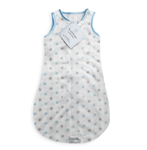 Swaddle Designs® Size 6M-12M Cozy zzZipMe Sleep Sack Baby Boy Blue Dots 6-12 Mo