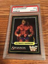 1991 Swanson WWF Ultimate Warrior Wrestling Card PSA 9 WWE WCW NWA TNA ROH oWn