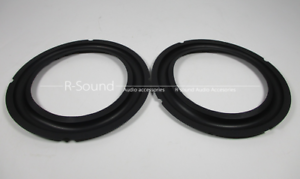 1 pair 6 in Speaker Surround Repair Rubber woofer edge 6 inch 155//140//115//105mm