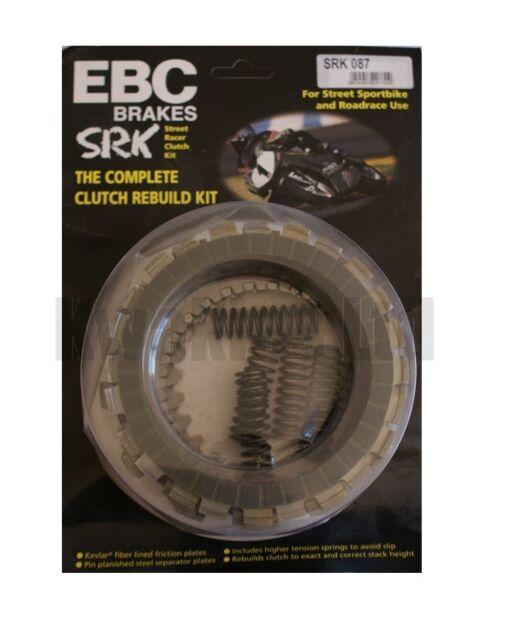 Yamaha YZF-R6 2CX 2014 EBC Street Racer Complete Clutch Kit SRK087