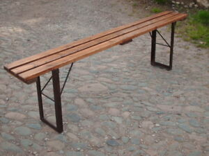 Strange Details About Vintage Folding Bench Onthecornerstone Fun Painted Chair Ideas Images Onthecornerstoneorg