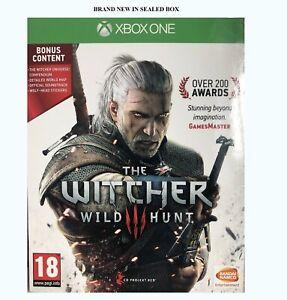 Xbox One der Hexer III 3 Wild Hunt Bonus Content Hexer Universum/Aufkleber/Karte