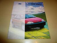 1999 Chevrolet Metro Sales Brochure - Buy 1 Get Second One Free
