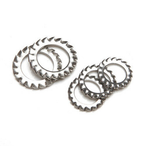 M2.5 M3-M30 Stainless Steel Sawtooth Gasket Outer Serrated Lock Washer Stop Pads