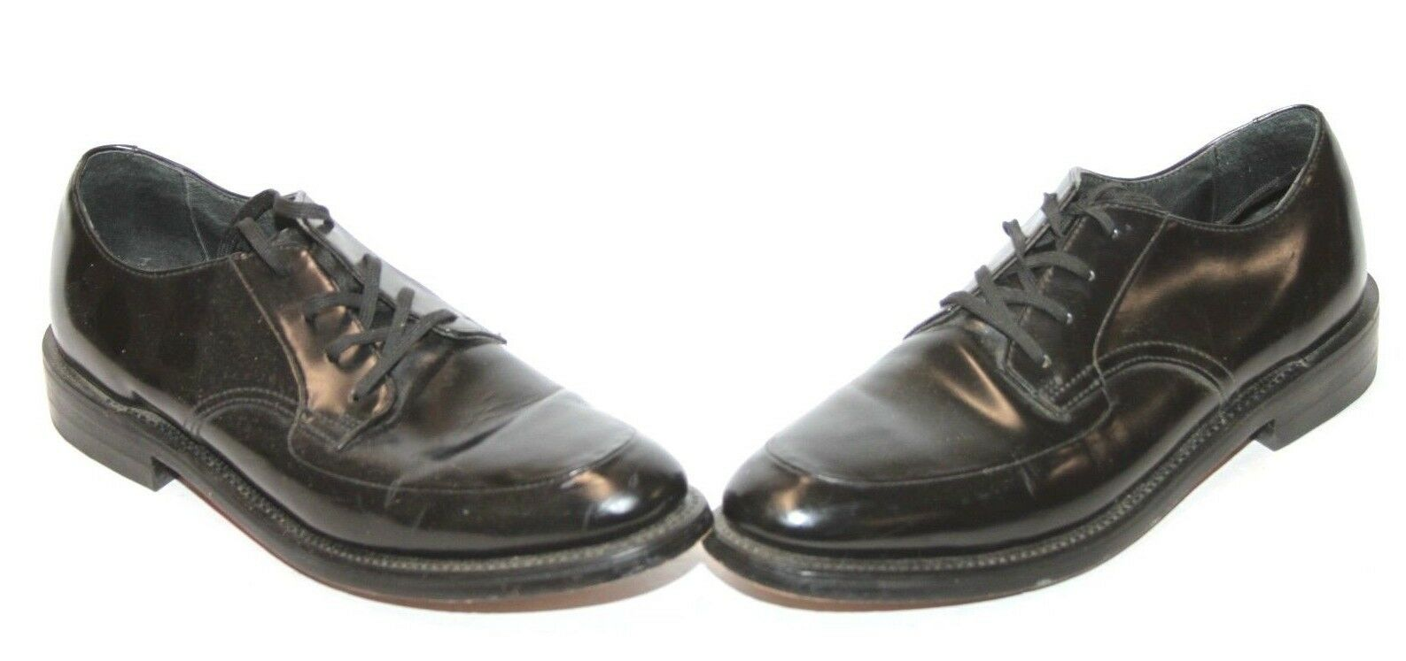 Executive Imperials Style Leather 333  Mens Black Leather Style Dress Shoes Sz 11a Narrow ce7034