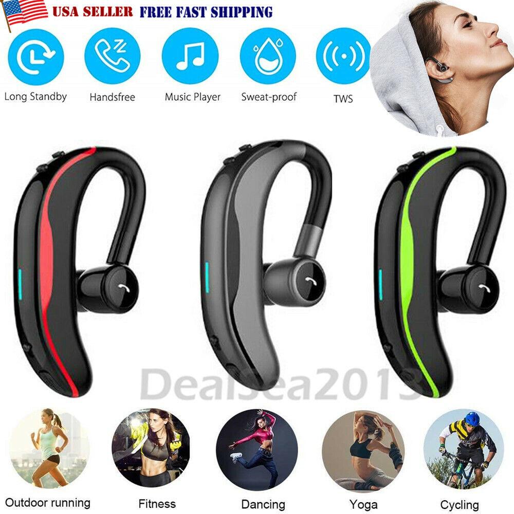 Bluetooth Headset Handsfree Wireless Earpiece For Sale Online Ebay