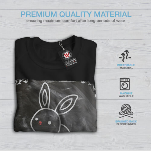 Animal Casual Pullover Jumper Wellcoda I love my Rabbit Womens Sweatshirt