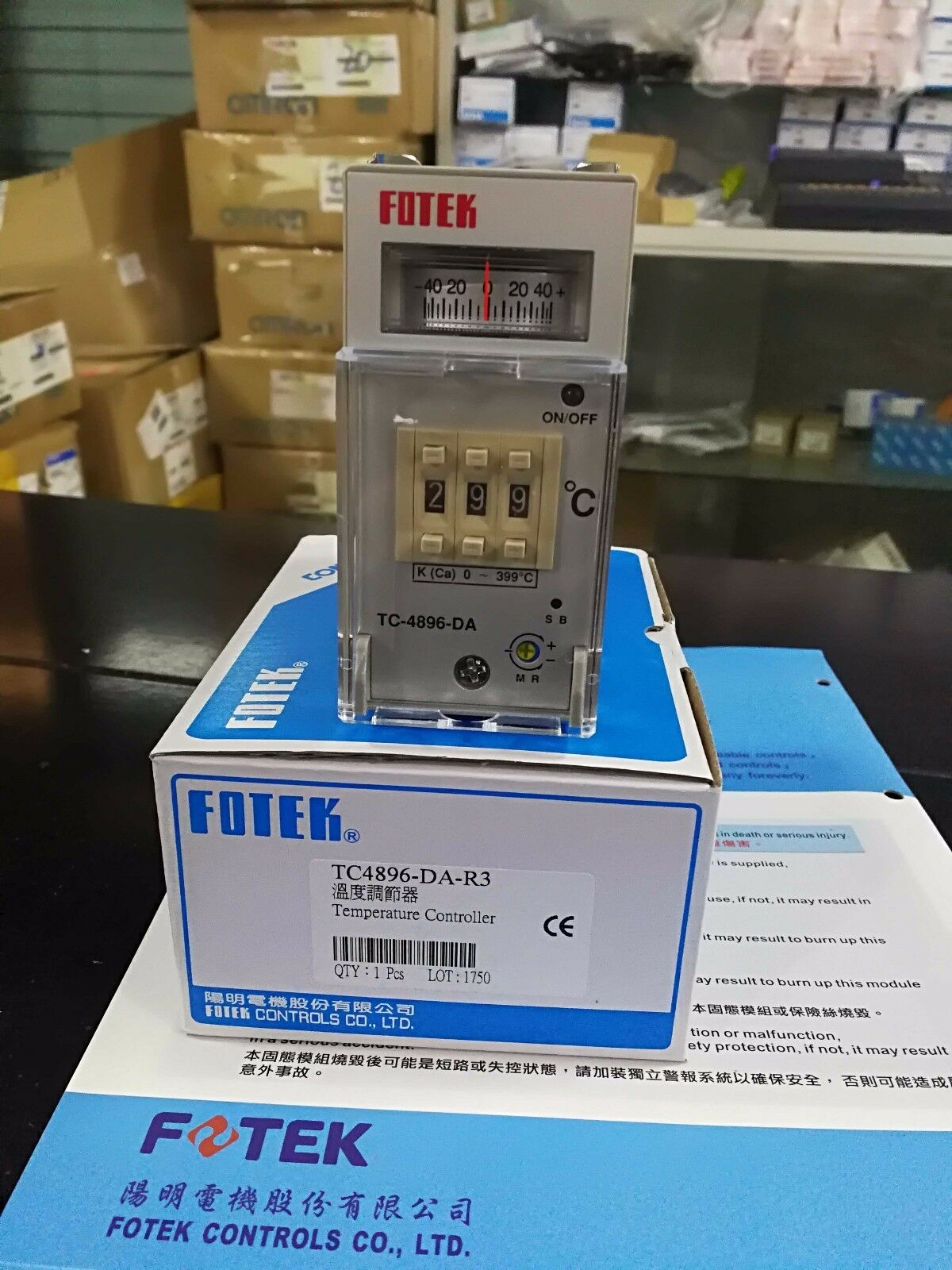 New 1Pc Fotek TC4896-DA-R3 Temperature Controller free shipping