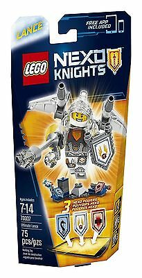 70337 ULTIMATE LANCE lego castle NEW legos set NEXO KNIGHTS