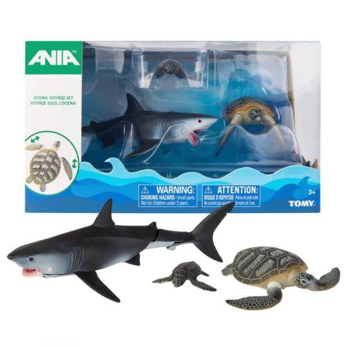 Tiere Offiziell Neu Ania Ozean Voyage Figur Packung Hai /& Schildkröten Sammel