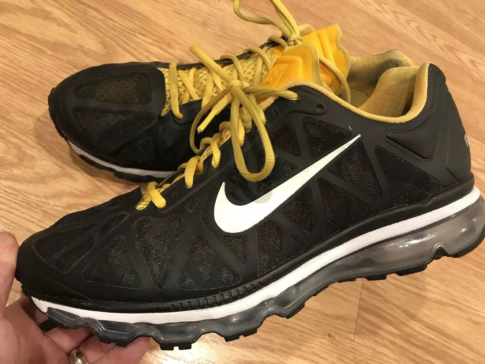 low priced 0c4cd b85f2 Nike Mens Armstrong Air Max+ LAF Running shoes Varsity Maize Size 11.5
