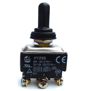 NEUE Auto Auto Boot 6 Pin 15A Auto Tipp Toggle DPDT ON-OFF-ON Schalter 12 v 220