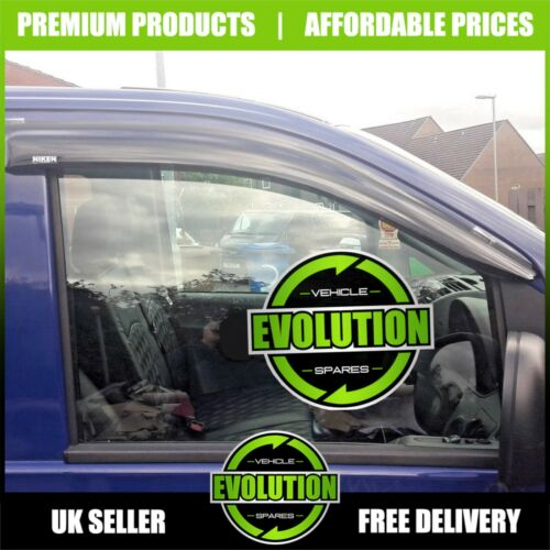MERCEDES VITO 04-13 WIND RAIN SMOKE DEFLECTORS VISORS EXTERNAL FIT W639