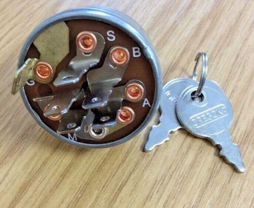RICAMBIO TORO Wheelhorse interruttore accensione con chiavi da OREGON 103991