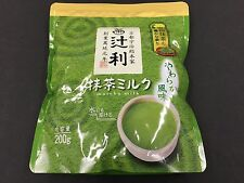 New Matcha Milk Green Tea Milk Powder Tsujiri Kyoto Flavor 200g MADE IN JAPAN