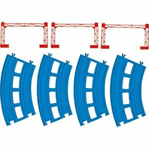 Plarail-double-track-curve-rail-4-pieces-R-05