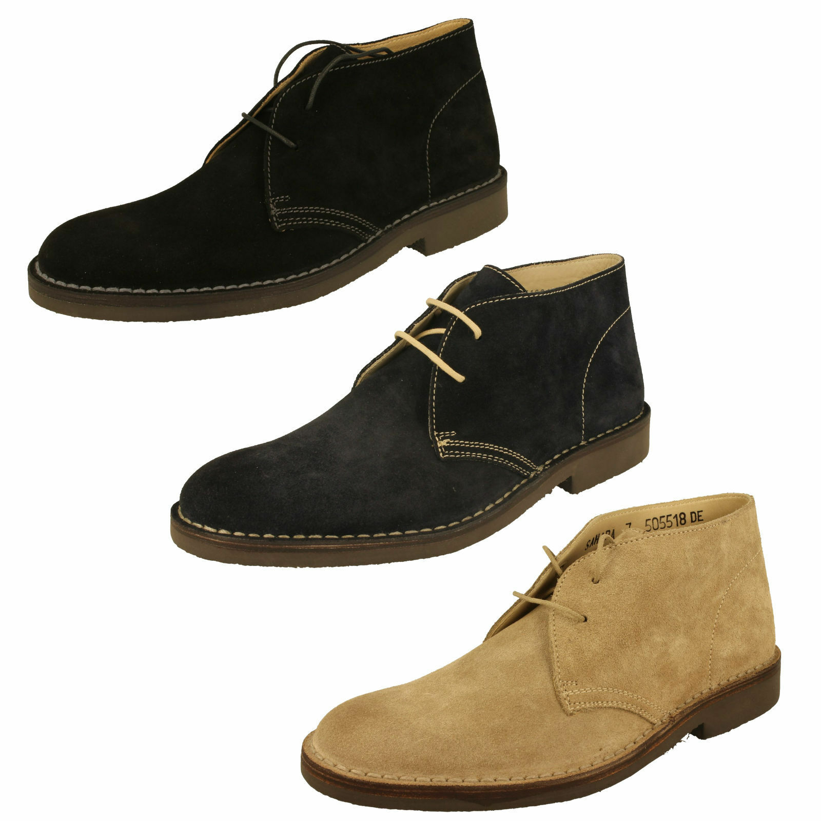 Homme Loake Bottines - Sahara