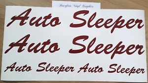 Auto-Sleeper-Motorhome-Decals-Stickers-Choice-Sizes-Colours-4-Piece