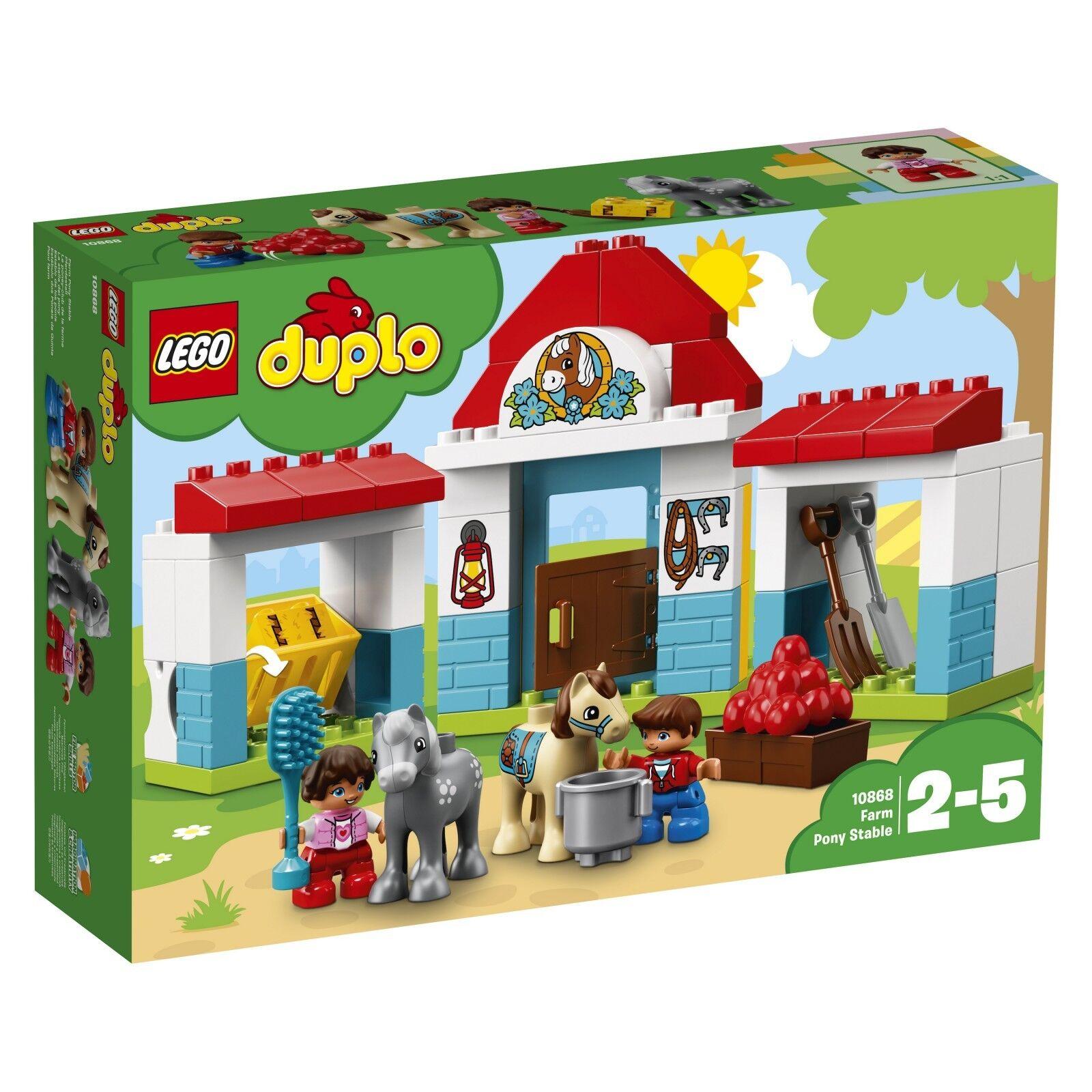 LEGO ® DUPLO ® 10868 SCUDERIA NUOVO OVP _ Farm Pony stable NEW MISB NRFB