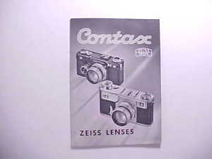 1936-ZEISS-IKON-CONTAX-MINIATURE-CAMERA-amp-ACCESSORIES-GUIDE-amp-PRICE-LIST-24-pp
