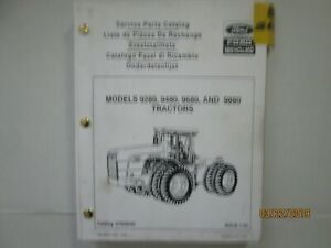 New Holland Service Parts Catalog Tractor 9280 9480 9680 9880 L