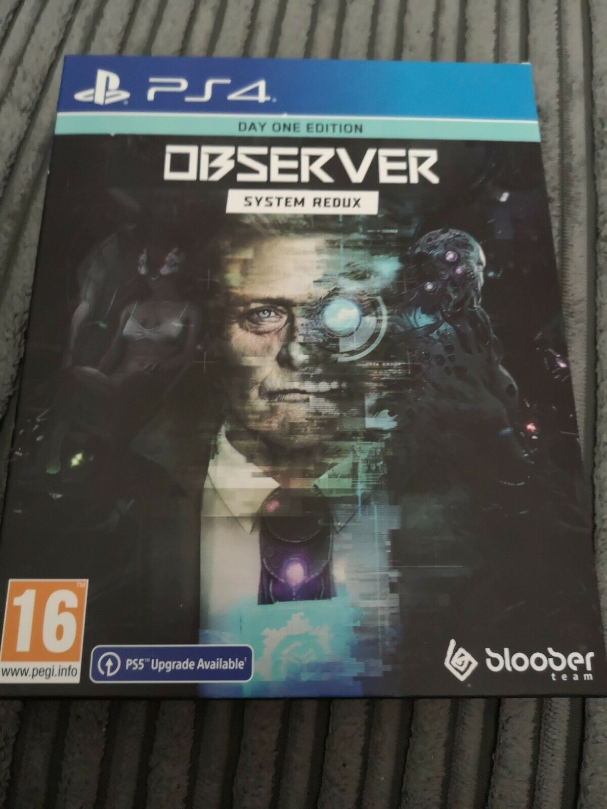 Observer System Redux Day One Edition Ps4