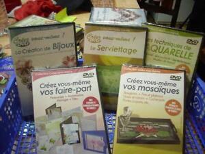 DVD-de-creations-Lot-de-6