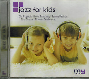 CD-VARIOUS-JAZZ-FOR-KIDS-Neuwertig-Titel-2-Foto-Ella-Fitzgerald-Nina-Simone