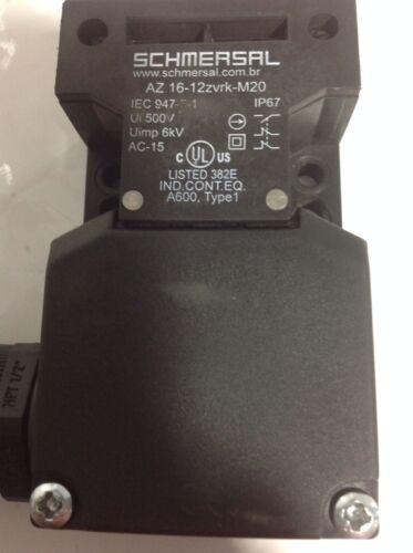 SAFETY SWITCH AC-15 SCHMERSAL AZ 16-12VRK-M20
