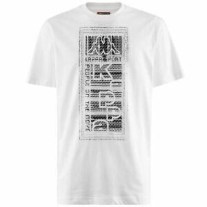 Kappa-T-Shirts-amp-Top-Uomo-LOGO-BISTAMP-Allenamento-T-Shirt