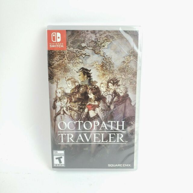 Octopath Traveler (Switch, 2018) New Sealed