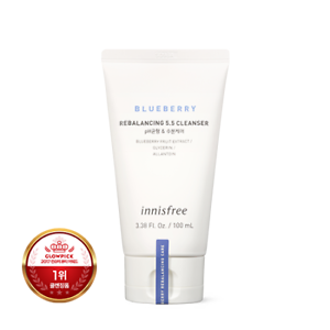 INNISFREE-NEW-Blueberry-Rebalancing-5-5-Cleanser-100ml