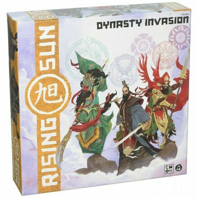 Rising Sun - Dynasty Invasion - Gioco da Tavolo Espansione Nuovo ITA Asmodee