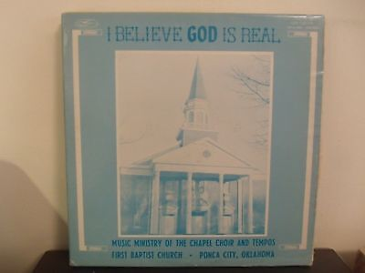The Chapel Choir and Tempos First Baptist Church Ponca City OK Gospel Music  LP | eBay