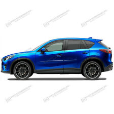 BODY SIDE Moldings PAINTED With CHROME Insert For: MAZDA CX-5 2013-2017