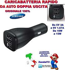 CARICABATTERIA RAPIDO EP-LN920BB DA AUTO SAMSUNG GALAXY J1 J3 J5 J7 J9