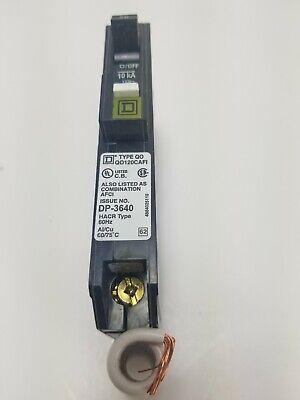 Square D QO120CAFI QO 20A Arc Fault Breaker