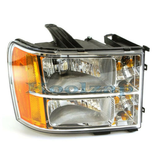 TYC 07-13 Sierra Truck Headlight Headlamp Front Head Light Right Passenger Side