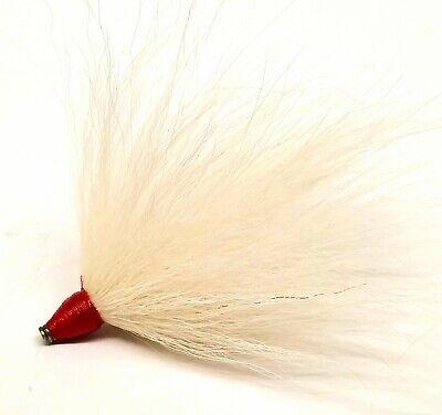 GOY Musky Muskie Northern Pike Bass Bucktail Inline Spinner Pre-Tie Coil Skirt