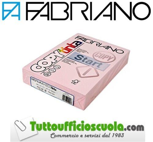 CARTA COLORATA FABRIANO UNICOLOR CIPRIA  RISMA COPY TINTA A4 80GR 500 FG