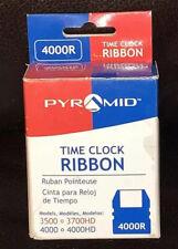 Nib Pyramid Time Clock Replacement Ribbonblack 4000r Black