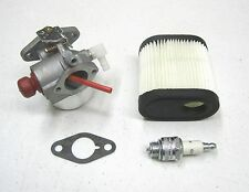 New CARBURETOR AIR FILTER SPARK PLUG Sears Craftsman Mowers w/ Tecumseh Engines