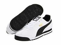 Puma Roma Lifestyle White Black Mens Shoes Free Post Australia