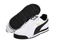 Puma Roma Lifestyle White Black Mens Shoes Free Post Australia