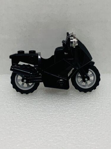 Lego Minifigure Motorcycle Black City