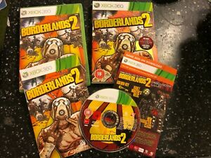 XBOX-360-GAME-BORDERLANDS-2-II-PREMIERE-CLUB-EDITION-BOX-INSTRUCT-039-COMPLETE-PAL